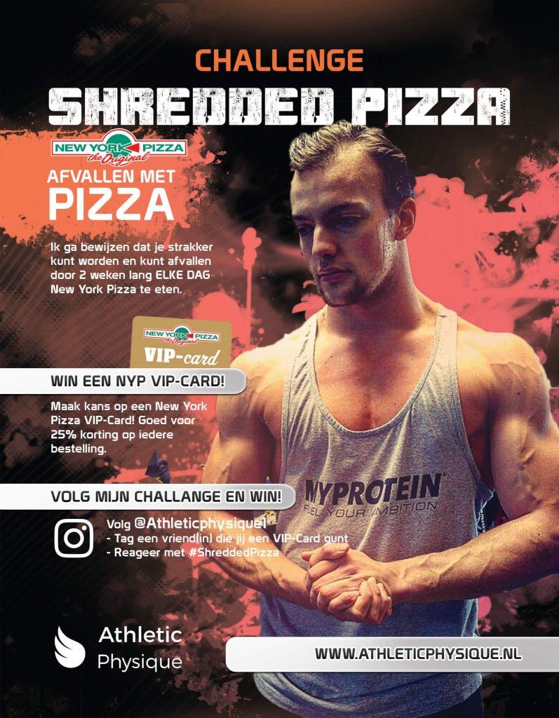 Shredded Pizza Challenge